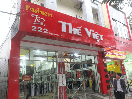 cửa hàng thời trang thế việt