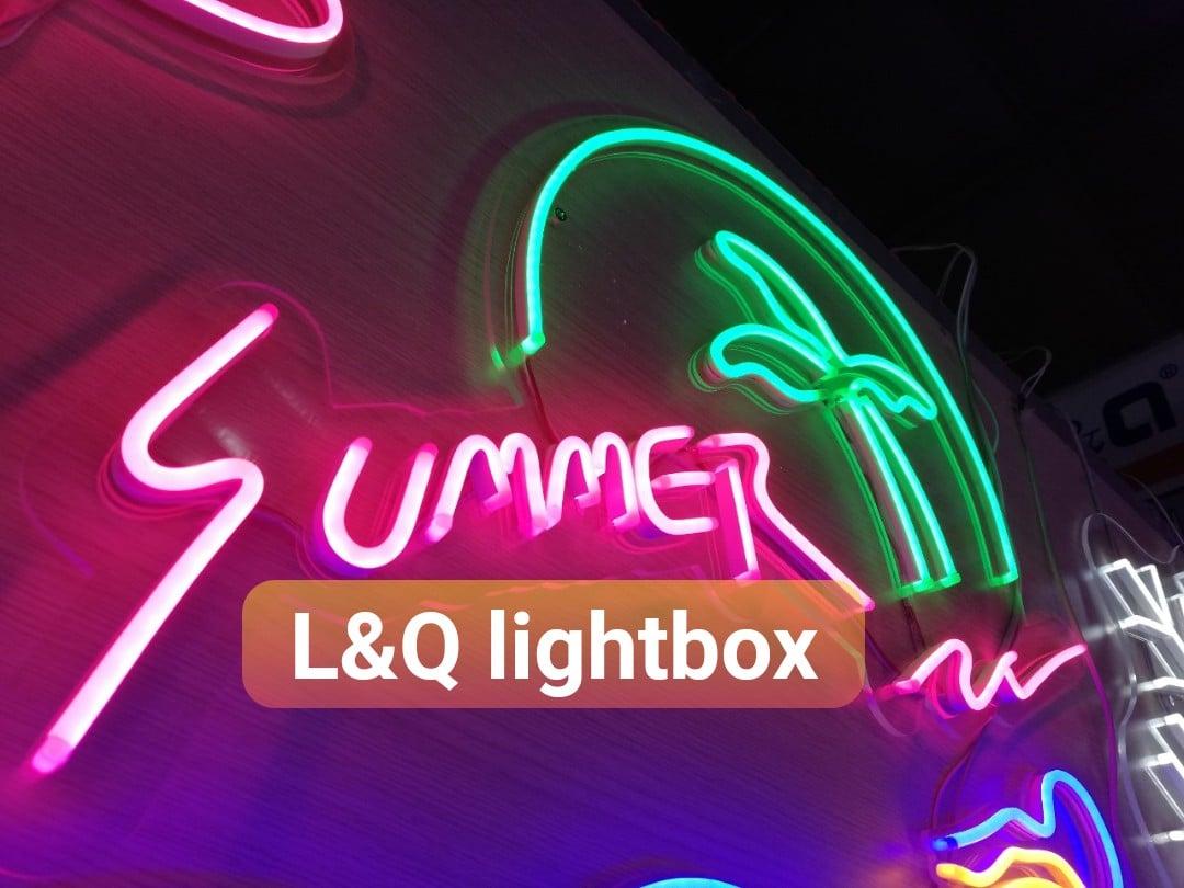 đèn led neon sign summer