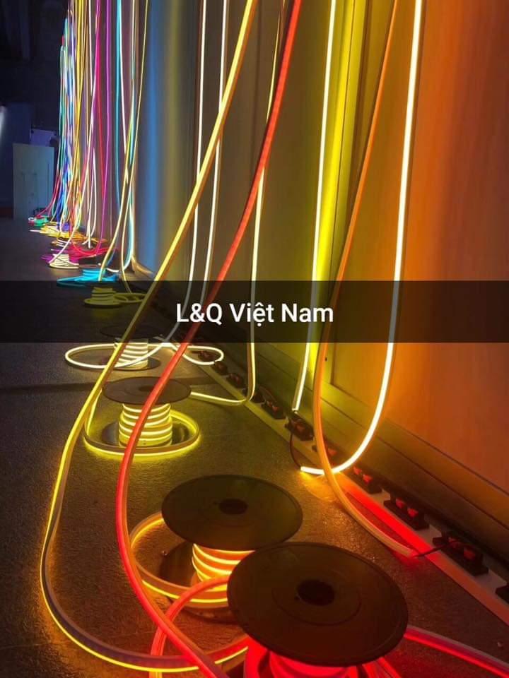 đèn led neon sign màu sắc sống động