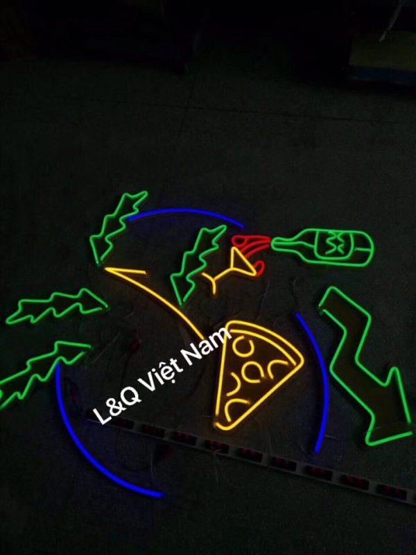 đèn neon sign trang trí sáng tạo