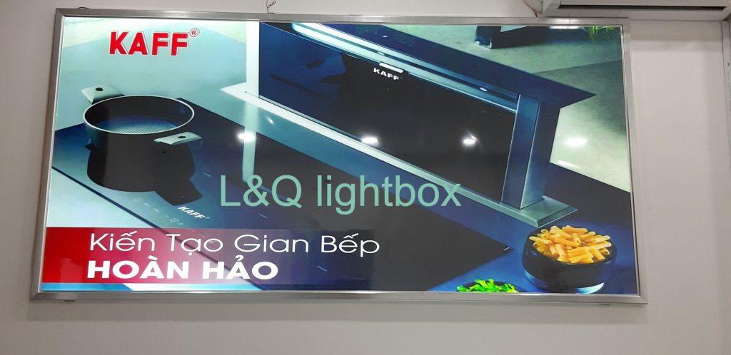 hộp đèn lightbox quảng cáo bếp điện