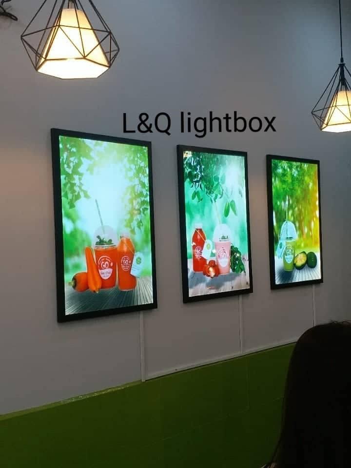 hộp đèn quảng cáo sinh tố