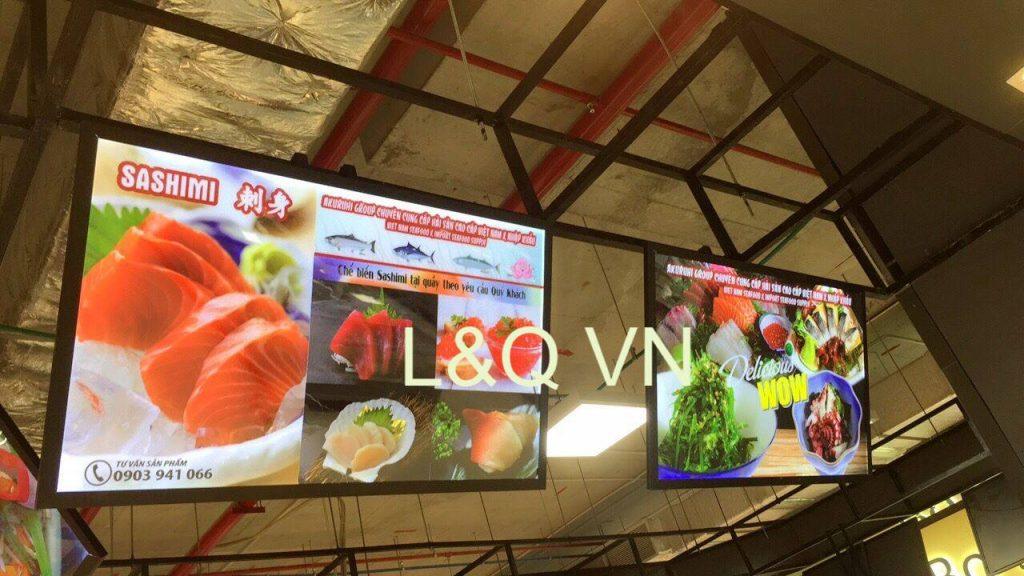 hộp đèn quảng cáo cho nhà hàng ẩm thực cao cấp 2