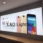hộp đèn quảng cáo smartphone Mi A1