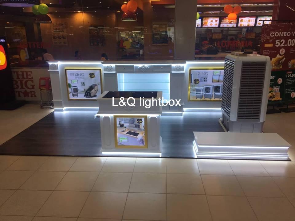 hộp đèn quảng cáo cho khu vui chơi giải trí
