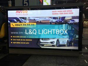 hộp đèn quảng cáo xe dịch vụ avigo