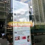 hộp đèn quảng cáo dành cho tiệm spa