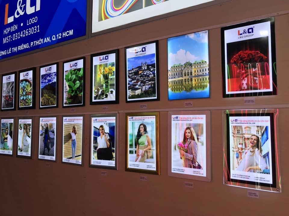 hộp đèn quảng cáo led lighbox khu triển lãm 10