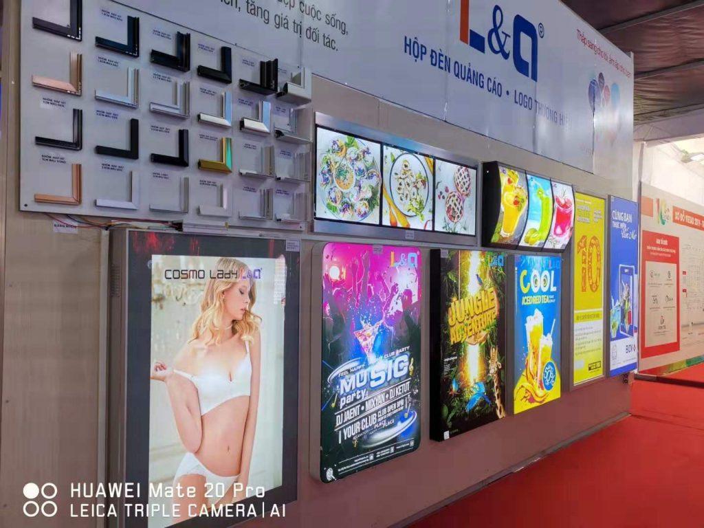 triển lãm l&q lightbox việt nam