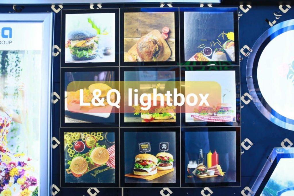 hộp đèn biển hiệu cho quán ăn