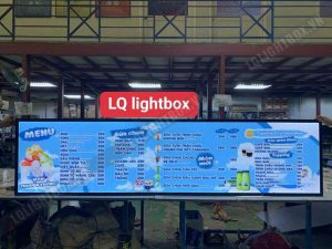 hộp đèn quảng cáo đồ uống, cafe, sữa chua, sinh tố