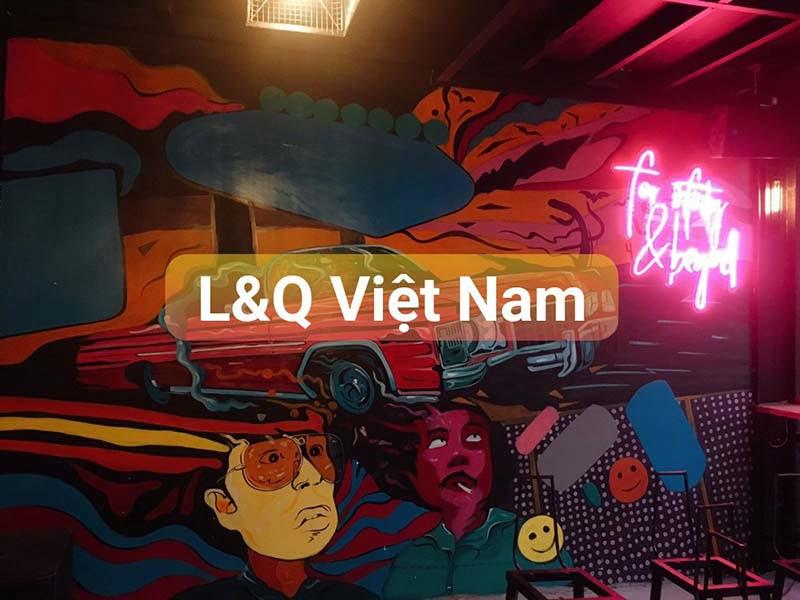 đèn led neon sign trang trí quán cafe