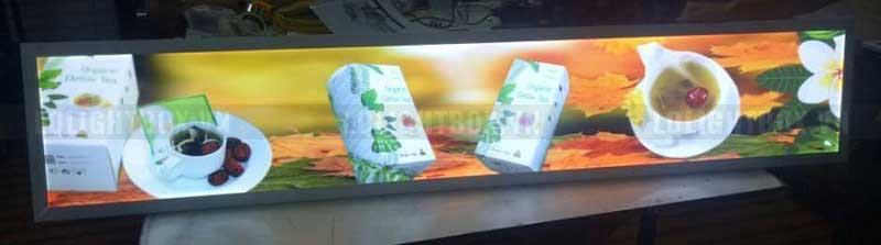 hộp đèn quảng cáo lightbox thực phẩm chức năng