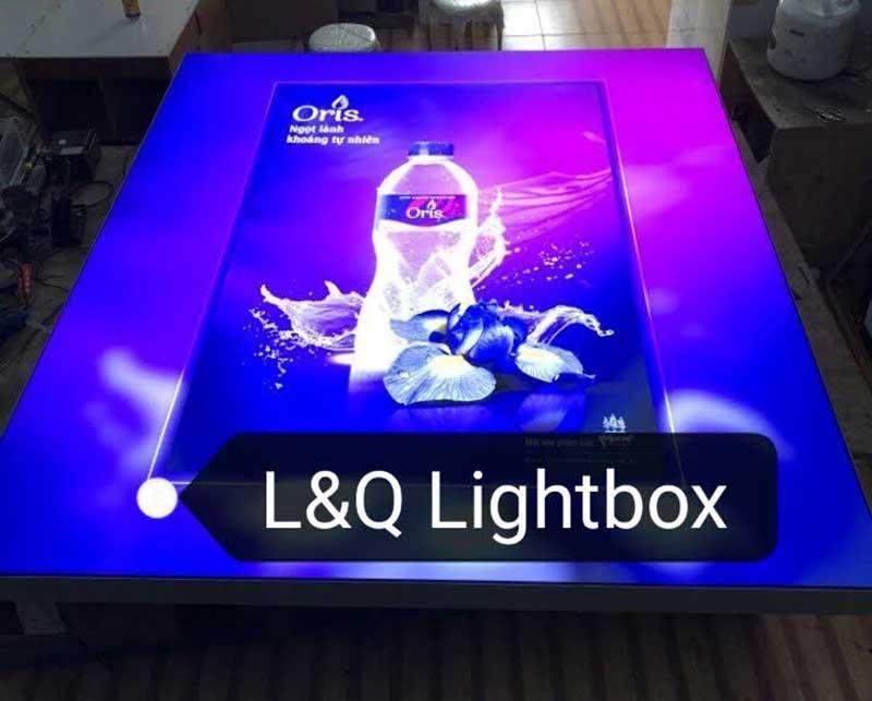 hộp đèn quảng cáo lightbox cung cấp cho các agency quảng cáo