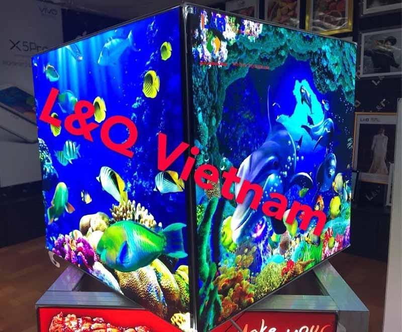 hộp đèn tranh điện bể cá đại dương
